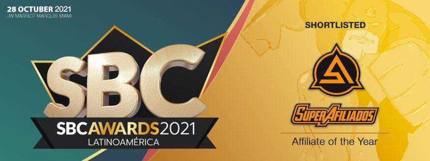 Super Afiliados - SBC Awards Latin America